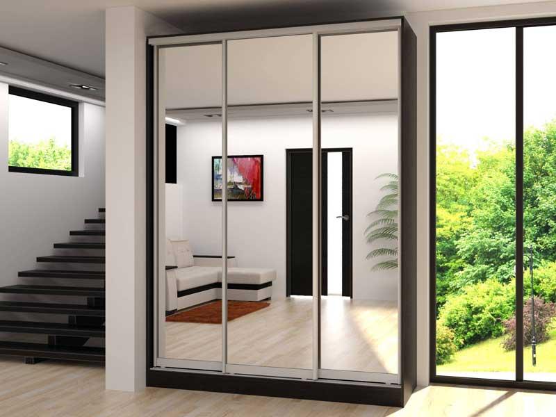 купить шкаф купе трехдверный с зеркалом H 3 1800 в спб